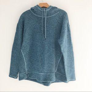 St. Johns Bay Blue Pull Over Hoodie Sweatshirt - M